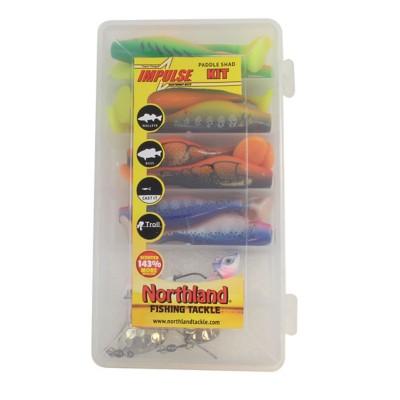 Northland Impulse Paddle Shad Kit 24 Pc