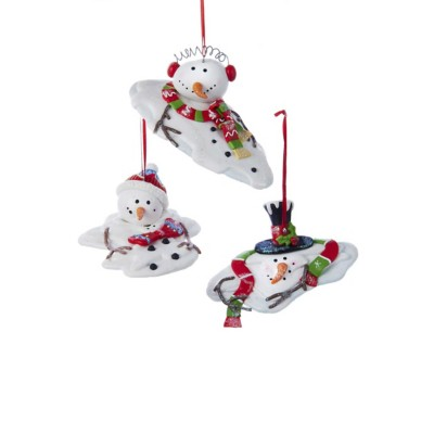 Kurt S Adler Snowman Melt Christmas Tree Ornament