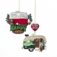 Kurt S Adler Assorted Painted Camper Christmas Tree Ornament