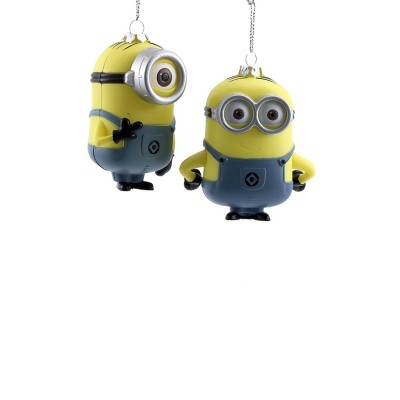 Kurt S Adler Dave & Carl Minion Christmas Tree Ornament