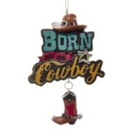 Kurt S Adler Cowboy Christmas Tree Ornament