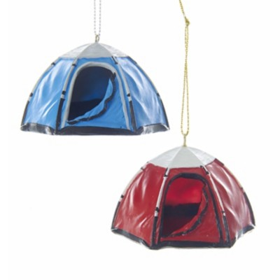 Kurt S Adler Assorted Tent Christmas Tree Ornament