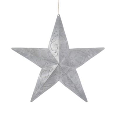 Kurt S Adler Metal Star Christmas Tree Ornament