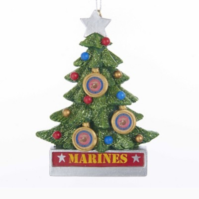 Kurt S Adler U.S. Marine Christmas Tree Ornament