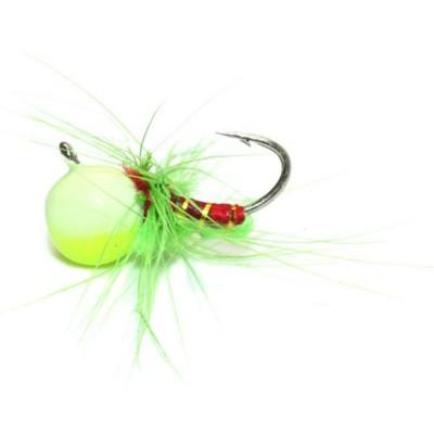 Custom Jigs & Spins JaJeBug Tungsten Ice Fly