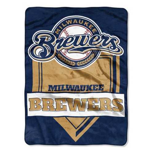 Northwest Company Milwaukee Brewers 60X80 Royal Plush Blanket