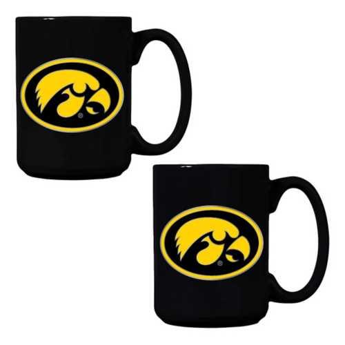 Great American Products Iowa Hawkeyes 2pk Mug Gift Set