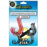 Gamakatsu Catfish Hook Assortment 20 Pack