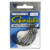 Gamakatsu Weighted Superline EWG Hooks