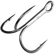 Gamakatsu Treble Round Bend Hooks Multi-pack Black