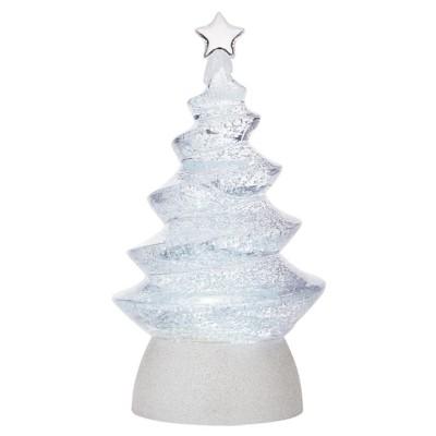 Roman Tree Swirl Glitter Figurine