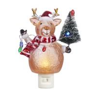 Roman Holiday Deer Night Light