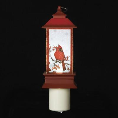Roman Cardinal In Lantern Night Light