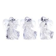 Roman LED Iced Angel Figurine