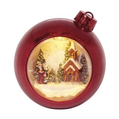 Roman Red Dome Church Ornament