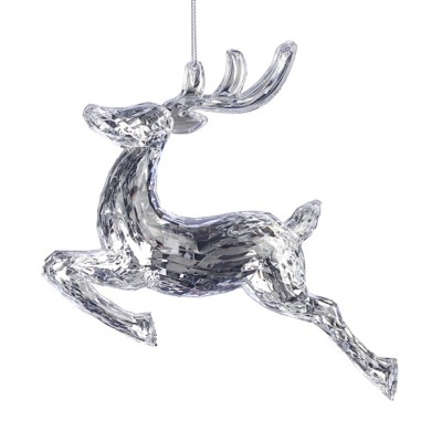 Roman Cut Crystal Deer Ornament