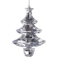 Roman Cut Crystal Tree Ornament