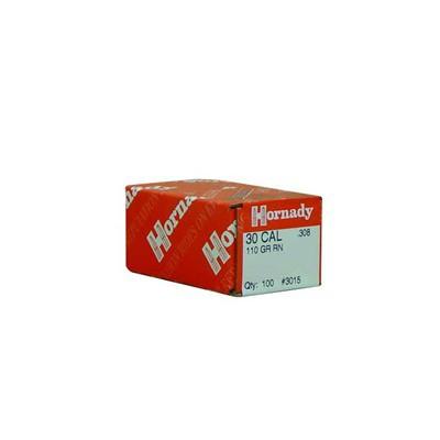 Hornady 30 CAL .308 110 GR RN