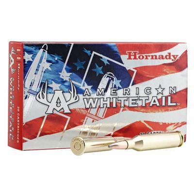 Hornady American Whitetail 25-06 117gr InterLock BTSP 20/bx