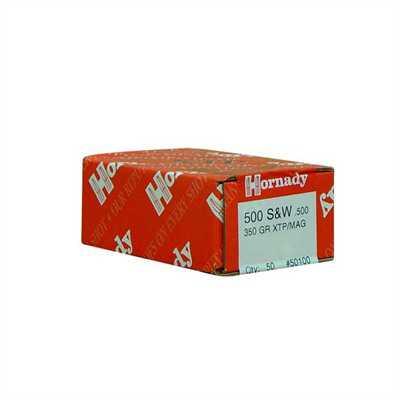 Hornady XTP S&W .500 350 gr Mag Bullets 50 Ct