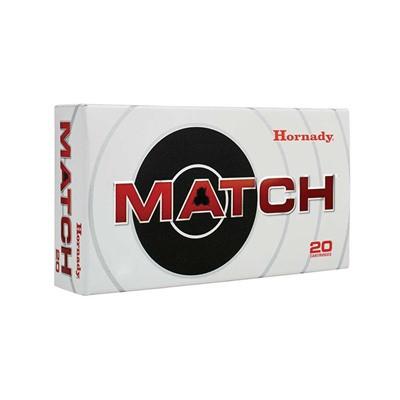 Hornady Match Ammunition, 308 Win 155