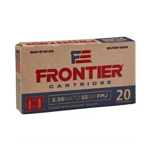 Frontier Ammo 5.56 NATO 55gr FMJ M193 20bx,25bx.cs