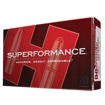 Hornady 25-06 Rem 117gr SST Superformance 20/bx