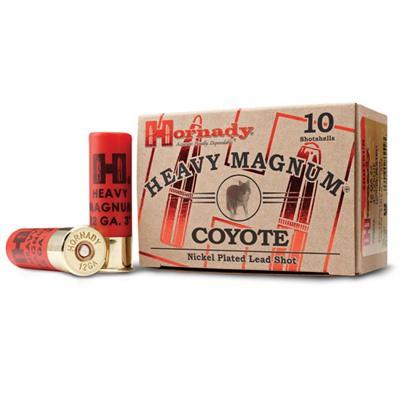 """Hornady Heavy Magnum Coyote 12ga 3"""" 1-1/2oz #00 10/bx"""