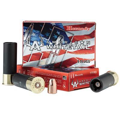 Hornady American Whitetail 12 Ga 325gr Interlock Slug 5/bx