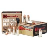 Hornady Critical Defense 9mm Luger 115gr FTX 25/bx
