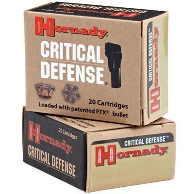 Hornady Critical Defense 45 ACP 185gr FTX 20/bx