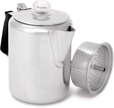 GSI Outdoors Glacier Stainless 9-Cup Percolator