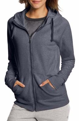 Women's Champion Full Zip Hooded Sweatshirt