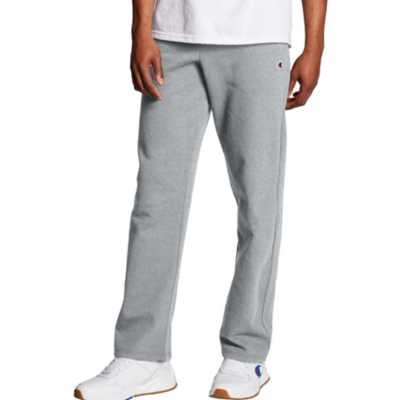 Men's Champion Powerblend Open Bottom Pants