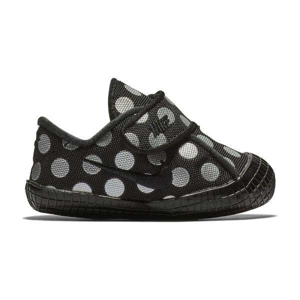 brand new 408bd 0a58f Black Black-Metallic Silver Tap to Zoom  Infant Girls  Nike Waffle 1 Crib  Shoes