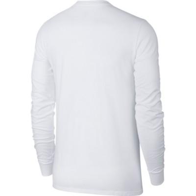 Men's Nike Sportswear Futura Box Logo Long Sleeve Shirt