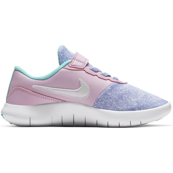 04c98a512e01 ... Preschool Girls  Nike Flex Contact Running Shoes Tap to Zoom  Twilight  Pulse White-Light Aqua