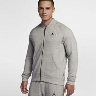 Men's Nike Jordan Sportswear Wings Fleece Bomber Jacket