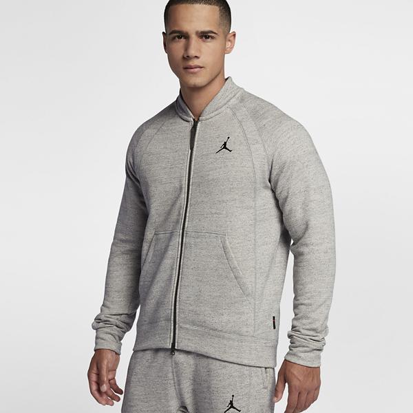 4b2afbef21a5 Men s Nike Jordan Sportswear Wings Fleece Bomber Jacket