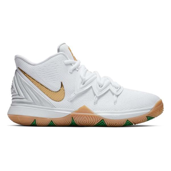 3e1920f5be9c ... Nike Kyrie 5 Basketball Shoes Tap to Zoom  White Metallic Gold-Pure  Platinum