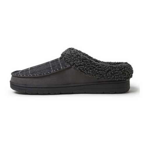 Men's Dearfoams Microsuede Clog Slippers