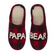 Men's Dearfoams Papa Bear Slippers