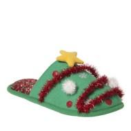Women's Dearfoam Christmas Tree Scuff