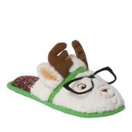 Women's Dearfoam Reindeer Scuff