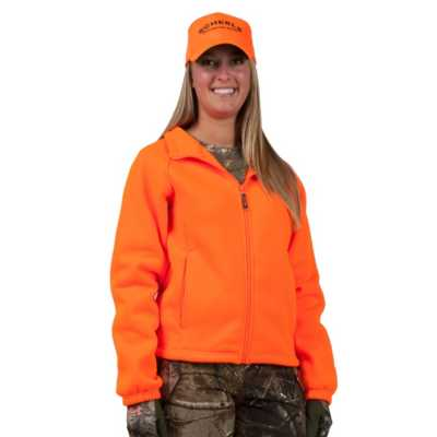 Women's Trail Crest Blaze Orange Fleece Jacket