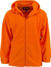 Men's Trail Crest Blaze Orange Chambliss Full Zip Hoodie