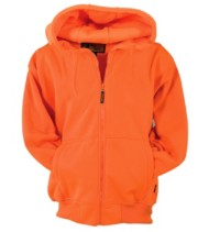 Men's Trail Crest Blaze Full-Zip Hooded Blaze Orange Jacket