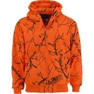 Men's Trail Crest Blaze Orange Full-Zip Hooded Jacket