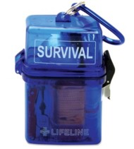 Lifeline First Aid Survival Kit in Waterproof Case