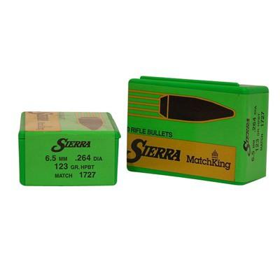 Sierra Bullet 6.5MM 123gr HPBT